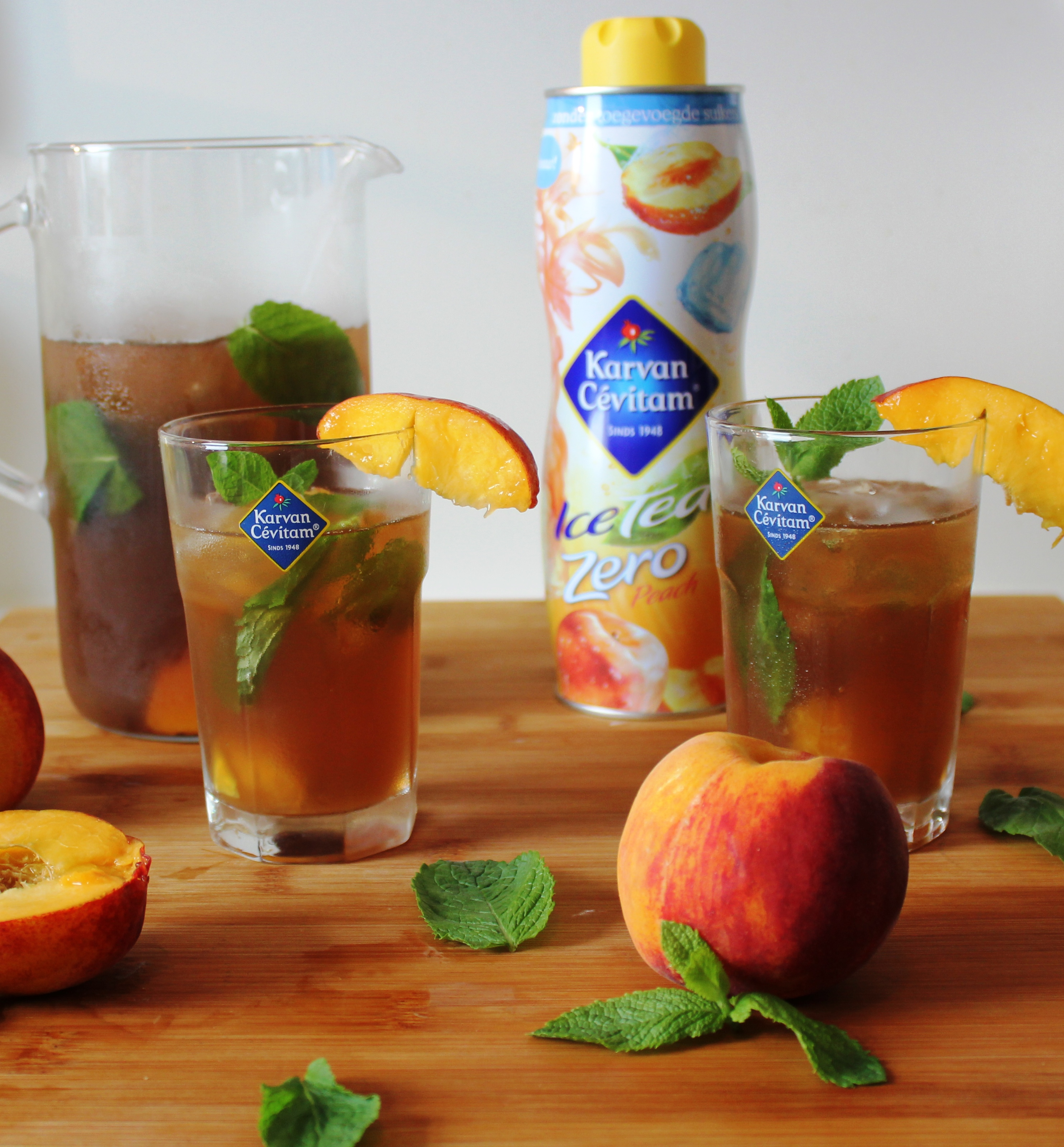 Karvan Cevitam Ice Tea Zero Peach Review