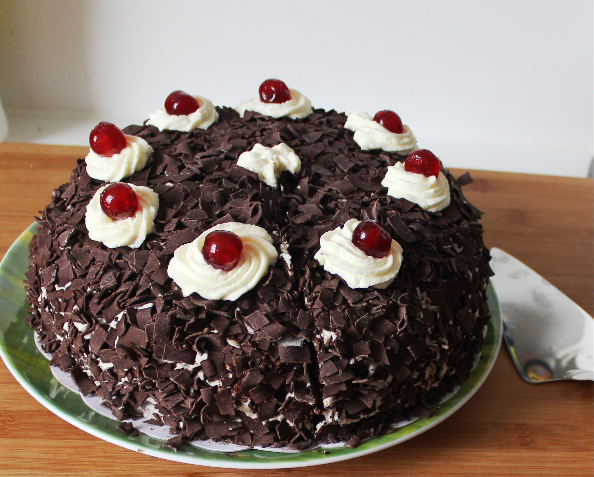 Black Forest Cake (Portal cake)